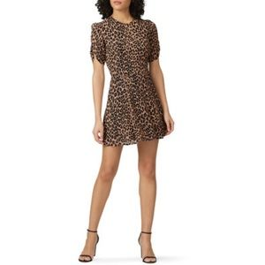 Reformation Leopard Grace Dress